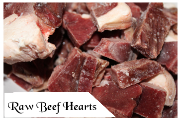 Raw Pet Food - Beef Hearts
