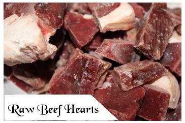 Raw Pet Food - Beef Hearts