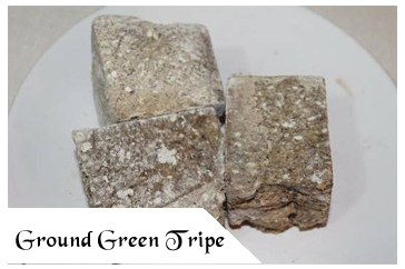 Raw Pet Food - Ground Green Tripe
