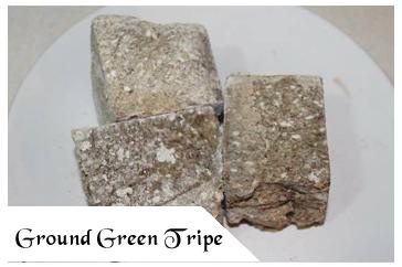 Raw Pet Food - Ground Green Tripe